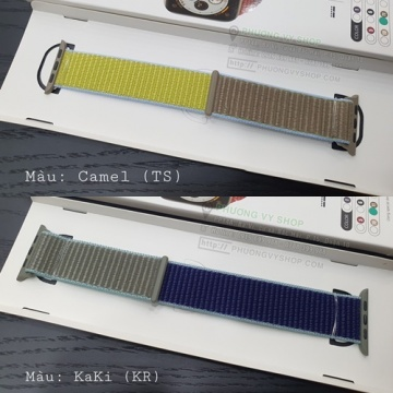 Dây vải thun hiệu Coteetci cho Apple Watch